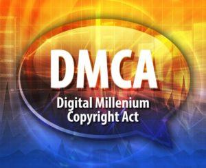 Copyright Infringement -Digital Millenium Copyright Act