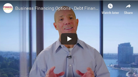 Business Debt Financing Video